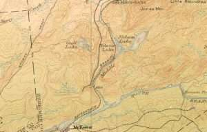 1912 Map of McKeever