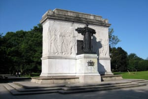 Albany Civil War Soldiers and Sailors Monument in Washington Park