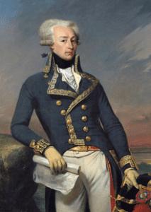Lafayette as a lieutenant general in 1791, by Joseph-Désiré Court (1834)