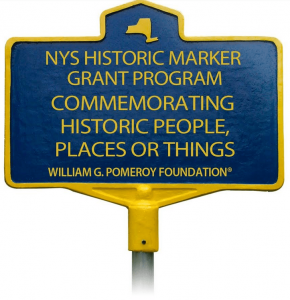 historic people places things marker