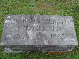 Gravestone, Riverview Cemetery, Old Forge, NY. Photo by Roy Crego.