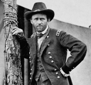 Commanding General Grant at the Battle of Cold Harbor