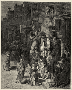 Gustave Doré Wentworth Street Whitechapel
