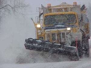 Plow Truck courtesy NYS Dot