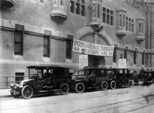 69th Regiment Armory Armory Show in 1913