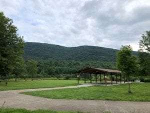 Kenneth L Wilson Campground provided by DEC