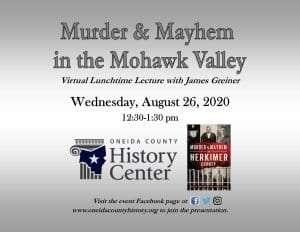 Murder & Mayhem Flier