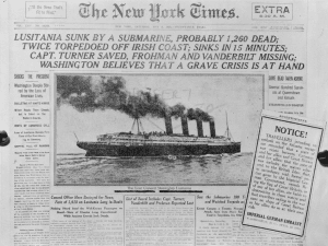 NY Times Lusitania article