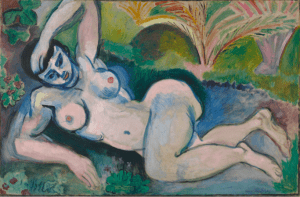 Nu bleu, Souvenir de Biskra 1907 by Henri Matisse courtesy Baltimore Museum of Art