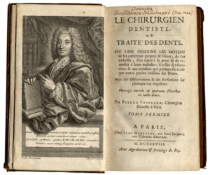 Pierre Fauchard first edition of Le chirurgien dentist