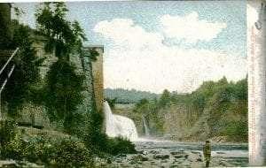 Rainbow Falls Ausable Chasm