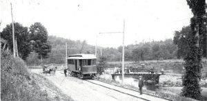 The A.N. Chandler car of the Ballston Terminal Railroad