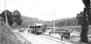 The A.N. Chandler car of the Ballston Terminal Railroad