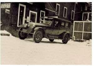 Camp Topridge Mailbag. Private Collection