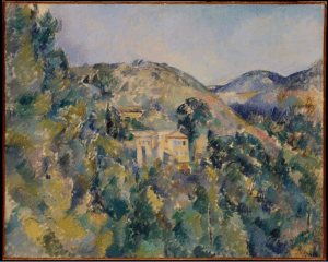 Vue du Domaine Saint-Joseph by Paul Cézanne late 1880s