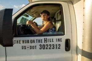 Hub on the Hill truck provided by Jen Zahorchak