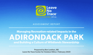 leave no trace assessment report