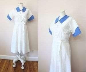 1930s Marvin Neitzel nurses uniform