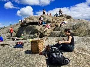 Crowding on Cascade Mountain, eastern High Peaks Wilderness by Dan Plumley