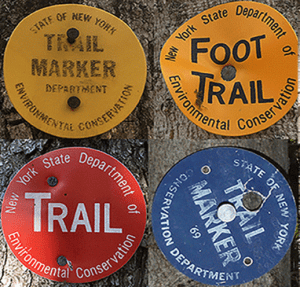 DEC Trail Markers provided by PROTECT