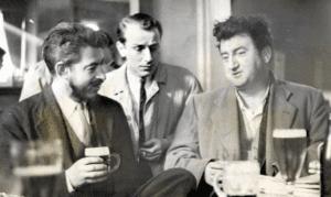 Donleavy and Brendan Behan in 1959