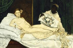 Édouard Manet Olympia 1865