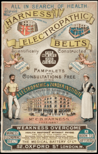 Harness Electropathic Belts advertisement