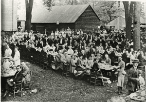 Jonesville Methodist Church Annual Labor Day Clambake Sept 4 1922