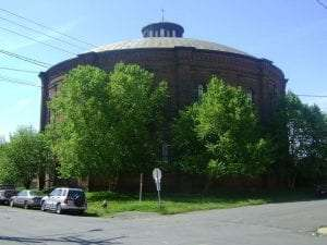 Troy gasholder house