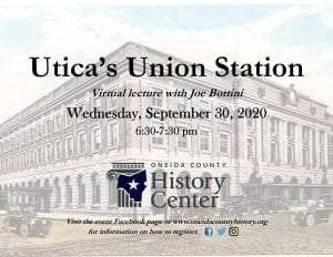 Utica Union Station Flier