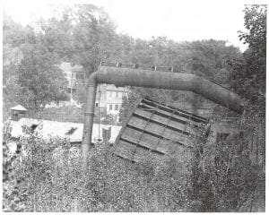 water wheel at burden iron works