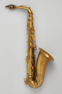 Alto saxophone in E-flat produced by Alphonse Sax