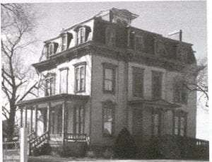 "1872 ""Apostle"" house, now the home of the Garden City Historical Society"