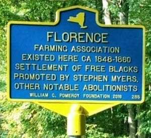 Florence Black Communnity in Oneida County