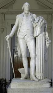 George Washington by Jean-Antoine Houdon