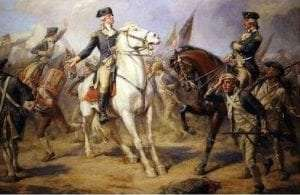 Washington at the Battle of Monmouth by John Ward Dunsmore