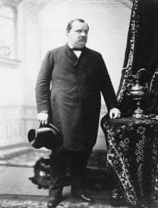 Grover Cleveland courtesy Library of Congress