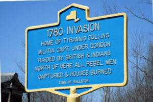 Historical Marker on Middleline Road
