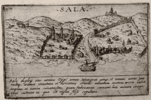 The pirate port of Salé in the 1600s