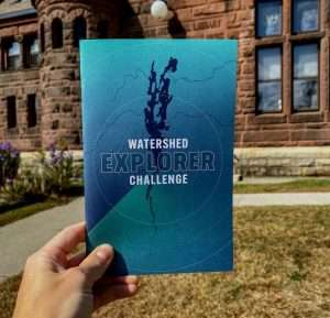 Watershed Explorer Challenge booklet provided
