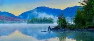 Elk Lake – In the Middle of Everything Wild by Ken Rimany