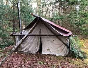 Nov 2020 Illegal Wilderness Camp