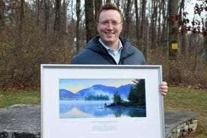 Kevin Chlad receives the 2020 Paul Schaefer Wilderness Award