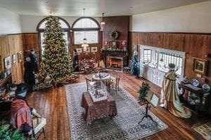 Moran at Christmas provided by East Hampton Historical Society