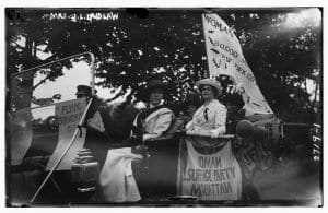 Mrs. J.L. Laidlaw. Suffragette c1910-15