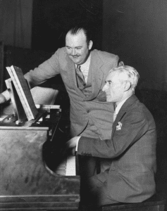 Paul Whiteman and Maurice Ravel in 1928