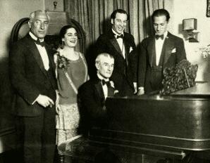 Ravels birthday party in New York City