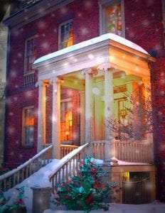 Ten Broeck Mansion Holiday House 2020