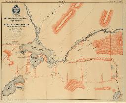 Tweedy Map of Beaver Lake