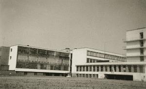 Walter Gropius Bauhaus building in Dessau